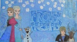 frozen freshmen poster