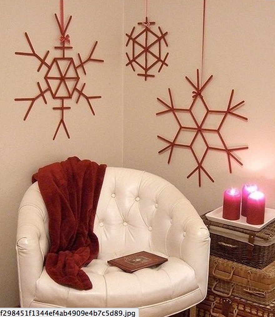 do it yourself christmas decorations the bamboo. Black Bedroom Furniture Sets. Home Design Ideas
